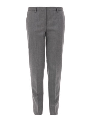 Fabiana Filippi: Tailored & Formal trousers - Montefalco wool tapered trousers