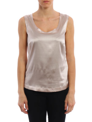 Fabiana Filippi: Tops & Tank tops online - Silk satin top
