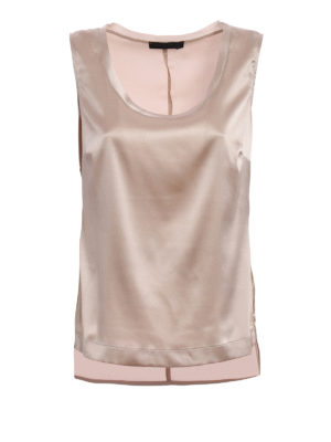 Fabiana Filippi: Tops & Tank tops - Silk satin top