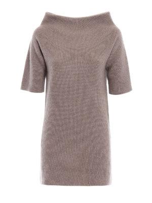 Fabiana Filippi: Turtlenecks & Polo necks - Crater neck merino long sweater