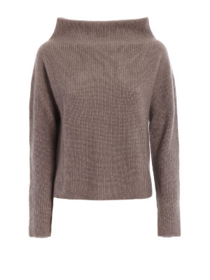 Fabiana Filippi: Turtlenecks & Polo necks - Merino wool boxy turtleneck