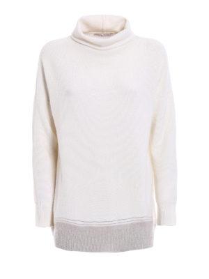 Fabiana Filippi: Turtlenecks & Polo necks - Merino wool oversize turtleneck