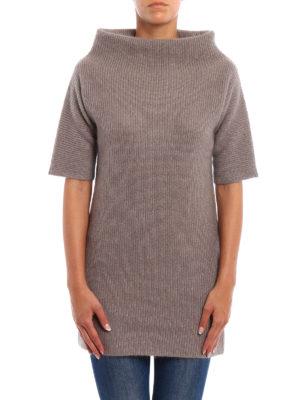 Fabiana Filippi: Turtlenecks & Polo necks online - Crater neck merino long sweater
