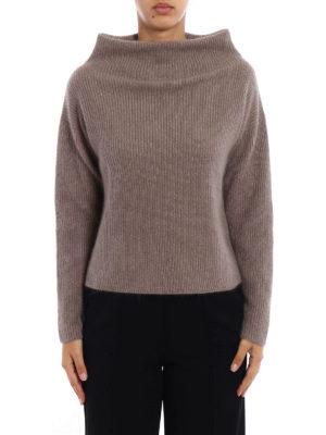 Fabiana Filippi: Turtlenecks & Polo necks online - Merino wool boxy turtleneck