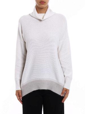 Fabiana Filippi: Turtlenecks & Polo necks online - Merino wool oversize turtleneck