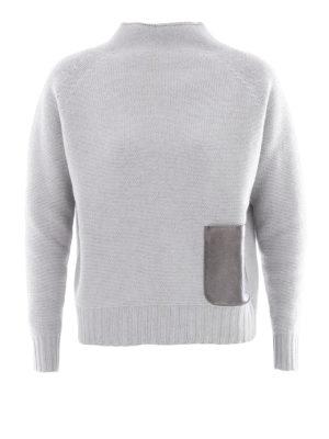 Fabiana Filippi: Turtlenecks & Polo necks - Platinum blend mock neck jumper