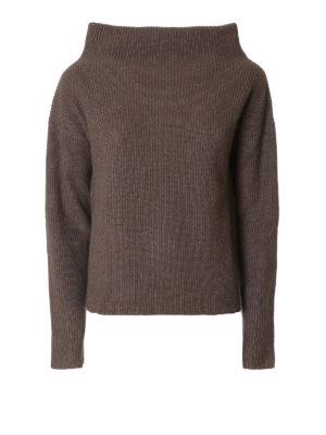 Fabiana Filippi: Turtlenecks & Polo necks - Ribbed wool and lurex sweater