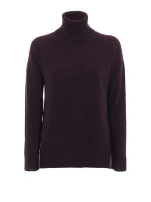 FABIANA FILIPPI: maglia a collo alto e polo - Dolcevita morbido in lana e seta
