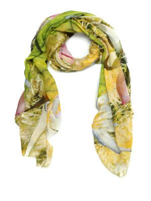 Faliero Sarti: scarves - Cactus modal blend scarf