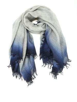 Faliero Sarti: scarves - Francy cashmere and silk scarf