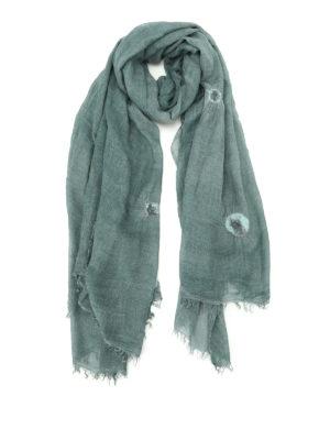 Faliero Sarti: scarves - Gigetta felt polka dot scarf