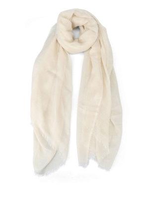 Faliero Sarti: scarves - Lux beige scarf