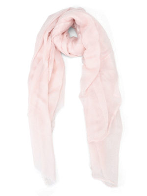 Faliero Sarti: scarves - Lux pink scarf