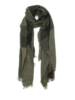 Faliero Sarti: scarves - Marella maxi check scarf
