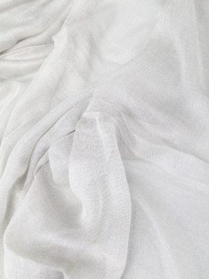 Faliero Sarti: scarves online - Lux pearl grey scarf