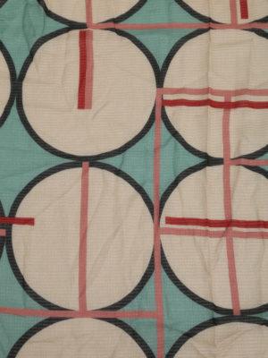 Faliero Sarti: scarves online - Quiz geometric print cotton scarf