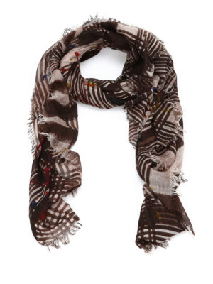 Faliero Sarti: scarves - Wonderful spotted scarf