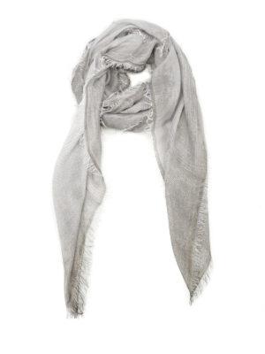Faliero Sarti: Stoles & Shawls - Damita lurex embellished shawl