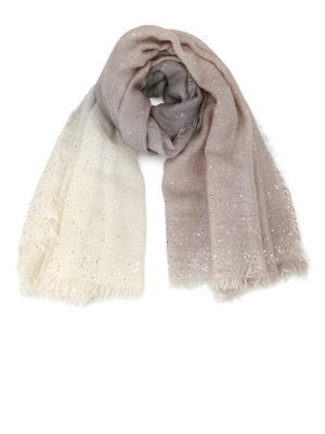 Faliero Sarti: Stoles & Shawls - Lery shaded sparkling stole