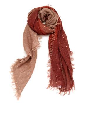 Faliero Sarti: Stoles & Shawls - Lilly multi fabric shawl