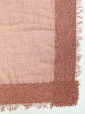 Faliero Sarti: Stoles & Shawls online - Isadora pink wool cashmere shawl