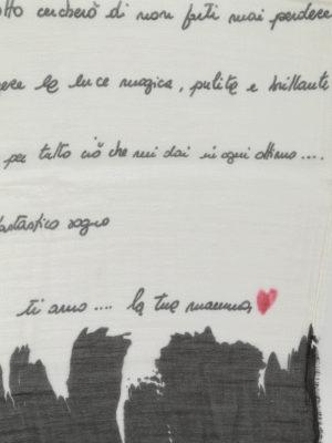 Faliero Sarti: Stoles & Shawls online - Poesia cotton blend stole