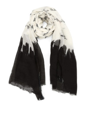Faliero Sarti: Stoles & Shawls - Poesia cotton blend stole