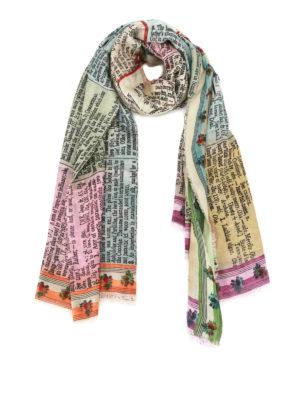 Faliero Sarti: Stoles & Shawls - Porta Fortuna silk blend stole