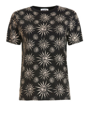 Fausto Puglisi: t-shirts - Sun all over printed Tee