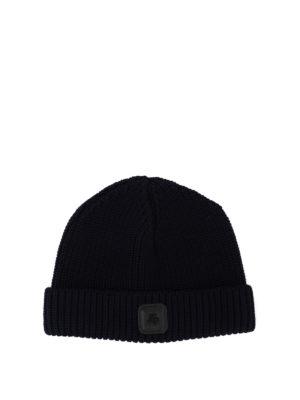 FAY: berretti - Cappellino in lana blu scuro