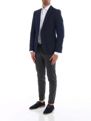 Fay: blazers online - Classic cotton blazer
