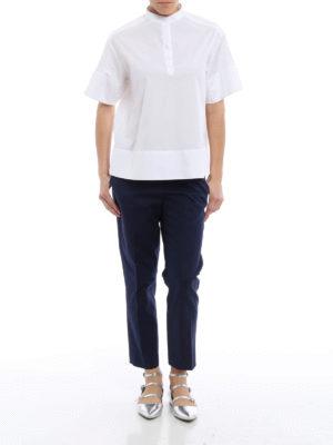 Fay: blouses online - Cotton A-line blouse