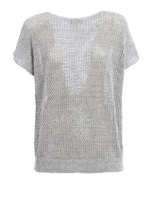 Fay: boat necks - Linen and cotton blend sweater