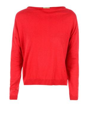 Fay: boat necks - Long sleeve boat neck sweater