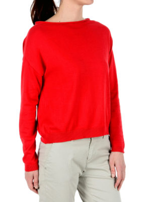 Fay: boat necks online - Long sleeve boat neck sweater