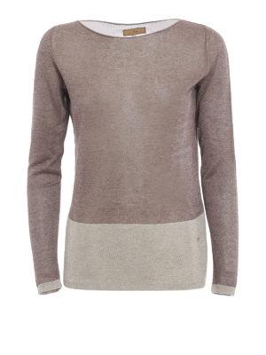 Fay: boat necks - Sheer long sleeved boatneck