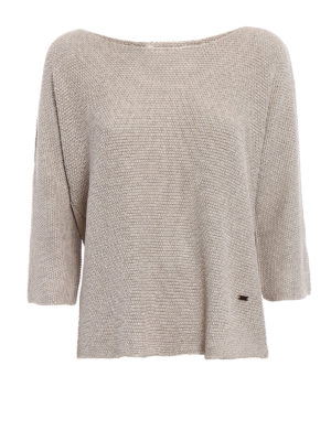 Fay: boat necks - Viscose blend over sweater