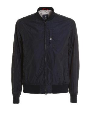 Fay: bombers - Matte nylon bomber jacket