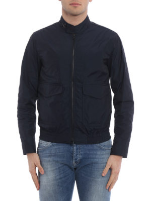 Fay: bombers online - Matte techno fabric bomber jacket