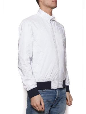Fay: bombers online - Techno taffeta white bomber jacket