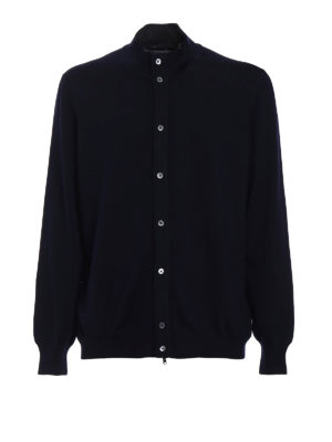 Fay: cardigans - Buttoned virgin wool cardigan