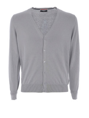 Fay: cardigans - Light cotton cardigan