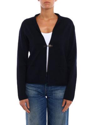 Fay: cardigans online - Wool crop cardigan