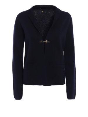 Fay: cardigans - Wool crop cardigan