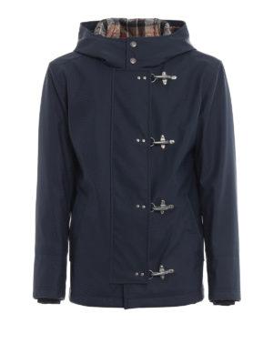 FAY: giacche casual - Giacca iconica 4 Ganci blu