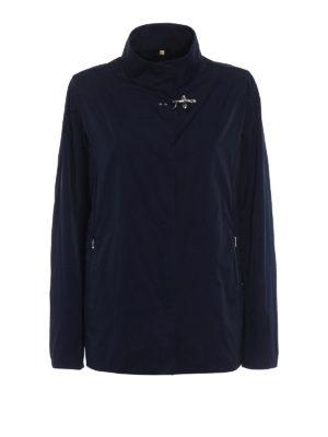 Fay: casual jackets - City Spring ultralight blue jacket
