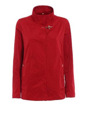 Fay: casual jackets - City Spring ultralight red jacket