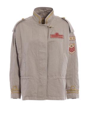 Fay: casual jackets - Cotton canvas safari jackets
