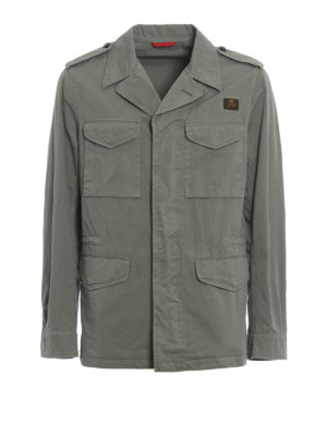 Fay: casual jackets - Cotton field jacket