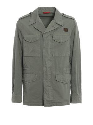 Fay: casual jackets - Cotton field jacket